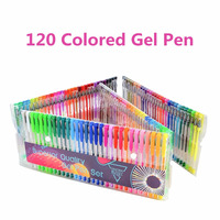 Factory Direct Supply Drawing and Painting Glitter Rainbow Neon Color Gel Pen Set