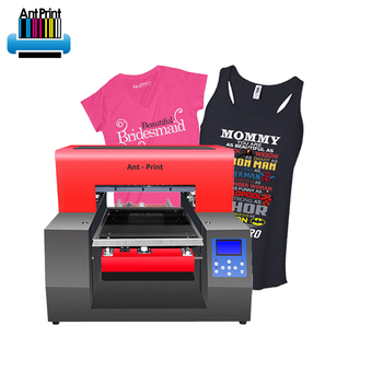 c8bd4c451 Factory direct t shirt laser garment price a3 dtg printer with good  printing effect