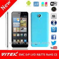 4.5 inch 3G WCDMA GSM 5M Camera GPS Wi Fi FM Smart Phone