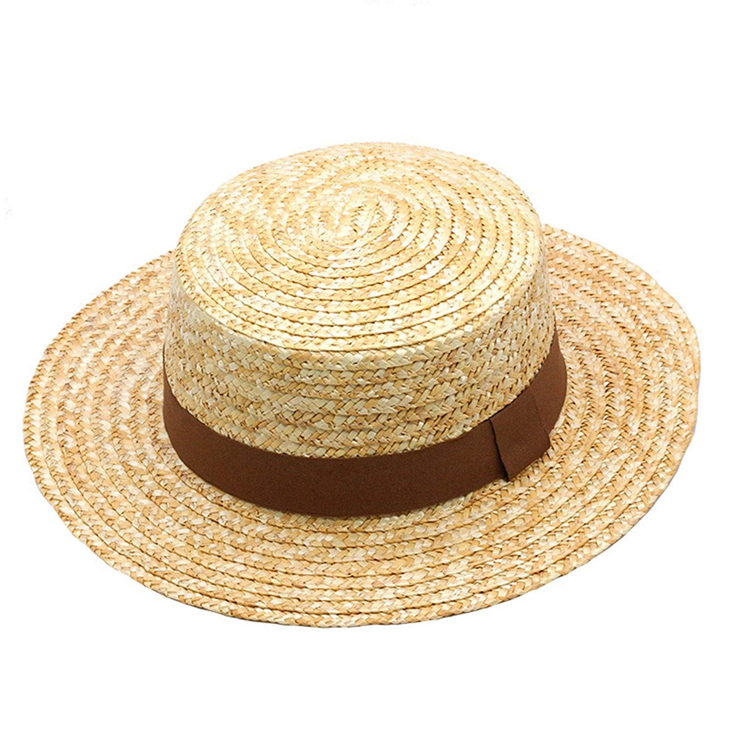 f46ba3f8431 Get Quotations · Woman Athlete Sun Hat New Summer New Fashion Wheat Sun Hat  Beach Hat Ribbon Bow Knot