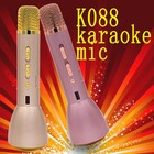 Exclusivo design móvel sem fio bluetooth handheld K088 magia karaoke microfone para smartphone, tablet PC