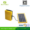 2017 new designed 4Ah/6V Lead-acid battery solar charger for indoor and outdoor