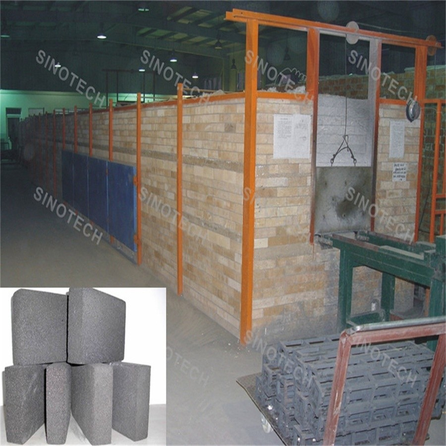 Sound Proof Foam Glass Panel/ Pipe Production Equipment
