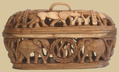 Fruit Bowl Wood Craft