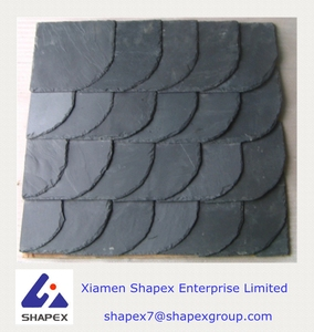 Irregular shaped slate roofing tile with good price
