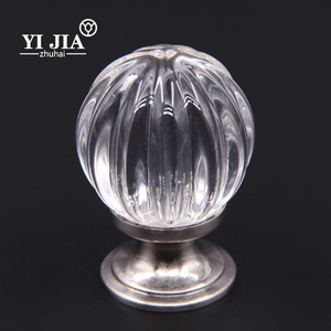 Wholesale kitchen cupboard handles crystal knob drawer handle