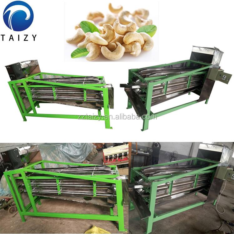 automatische Cashewnusshaut, die Maschine schält Cashewnussproduktionslinie Cashewnussverarbeitungsmaschine