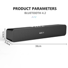 10W High Power Mini Wireless Portable Speaker Bluetooth Sound Bar, Super Bass Speaker & Double Horn for Home Theater Video Music