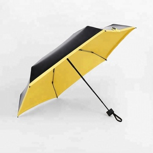 Portable Mini Folding Compact Super Windproof Anti-UV Rain Sun Umbrella Travel Promotional AD1228