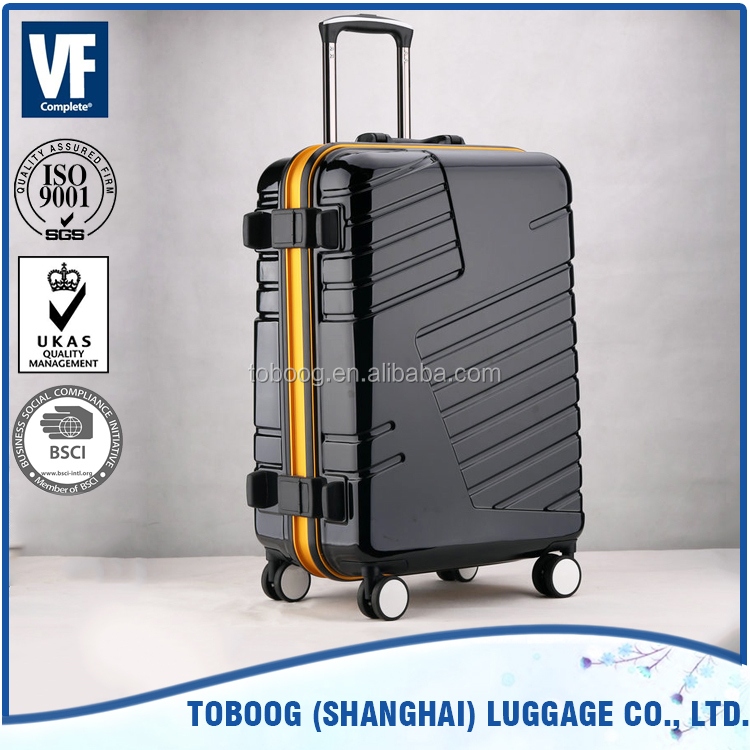 laptop trolley luggage suitcase for travelling universal aluminum suitcase