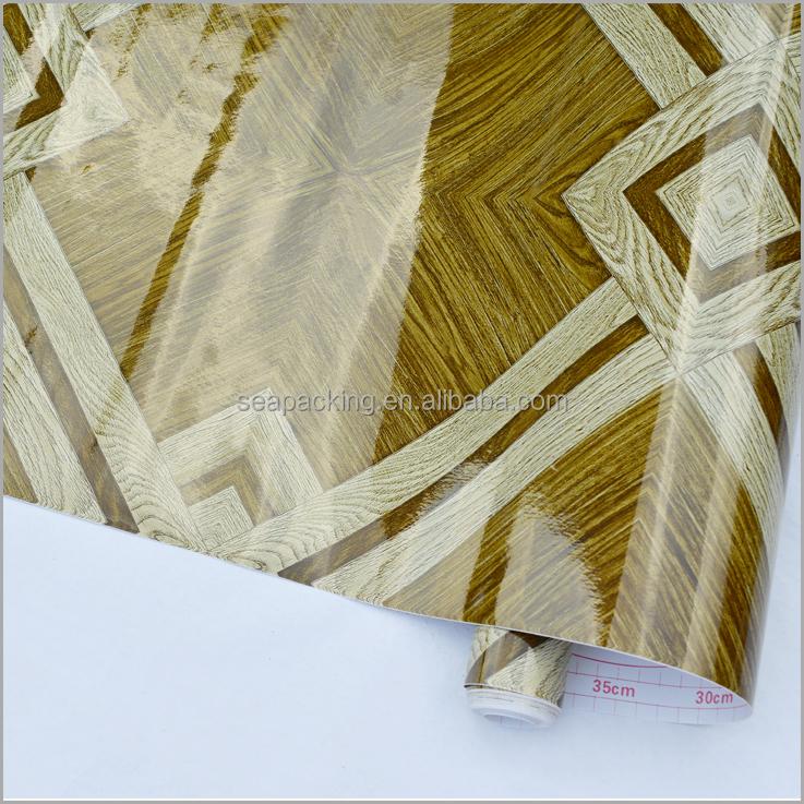 Durable bois motif textur auto adh sif papier peint - Papier adhesif decoratif pour meuble ...