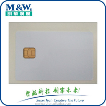 Direct printable plastic smart jcop 40k j2a040 java card with 3days fast shipping time