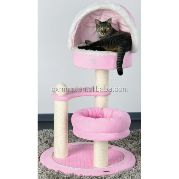 baby pink cat tree cat scratching posts