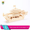 Hot!!! dragon boat pp 3d puzzle wooden craft boat