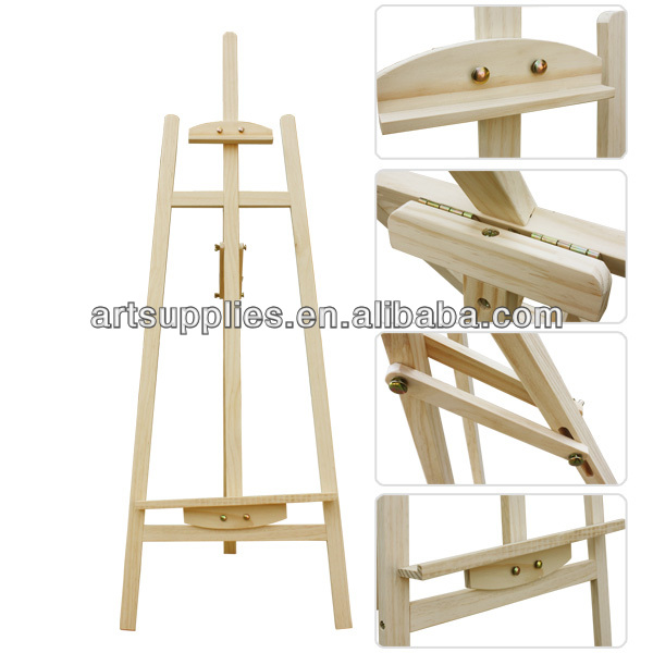 Professional French Rear-support easel artist studio easel buy easels