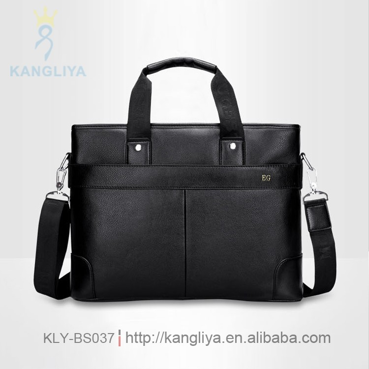 Top range fashion stylish man genuine leather briefcase luxury man bag suitable for officers, civil servant, sovial elites