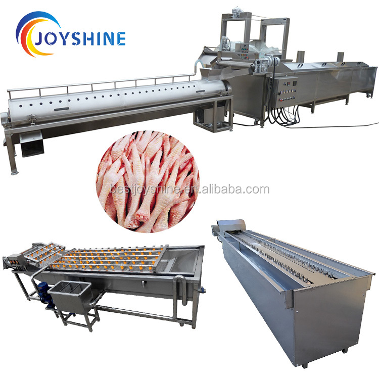 china export factory stainless steel <strong>chicken</strong> <strong>feet</strong> <strong>processing</strong> machine buyers