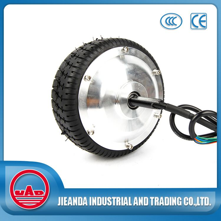Brushless geared folding electric bicycle wheel hub motor
