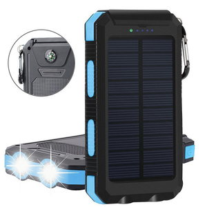 Shenzhen Manufacturer 2A 5V Mobile Powerbank Solar Charger Rohs Manual