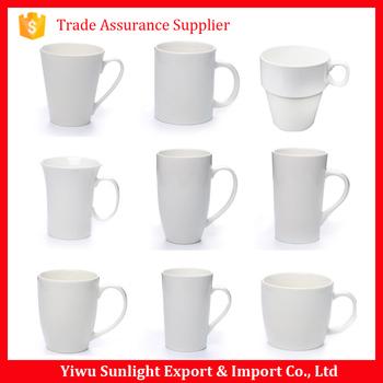 Ceramic Coffee Mug Shapes Without Handle