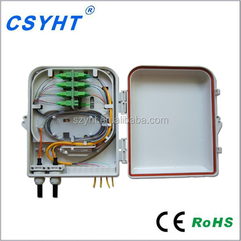 Ftth Outdoor Boxes Fiber Splice Box Splitter Outdoor Terminal Box Widely  Used In Telecommunication Networks Otb-0216 - Buy Splitter Outdoor Terminal