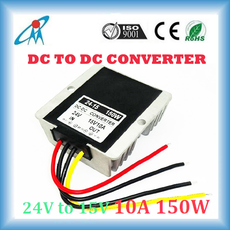 CE approved 100% Guarantee DC DC converter 24V to 15V 10A 15A 20A