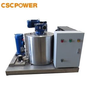 cscpower (10ton/24hrs) New design industrial flake ice making machines
