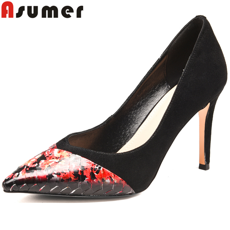 high fashion elegant fancy ladies heels shoes Asumer branded sexy WcYp4Wgq