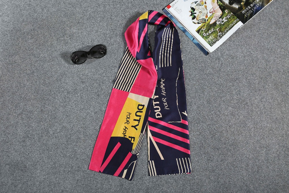 Customized colorful fashion Chinese wholesale high quality ployester women print silk scarf