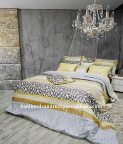 Premium Bed Sheet, Lime Yellow With Mineral Fiber