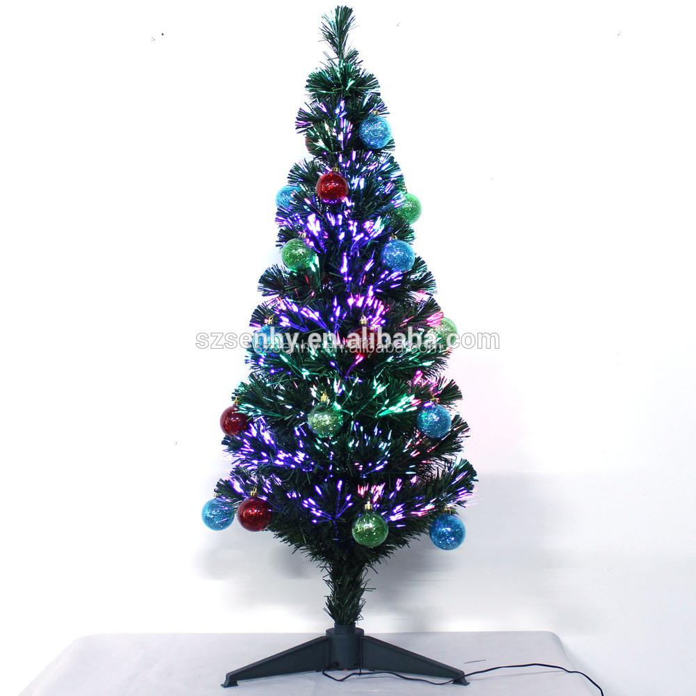 Beautiful Christmas Tree With Rainbow