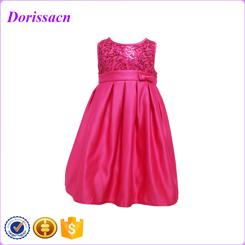 2016 Fancy Últimas Patrones Vestido Formal Party Girls Primera ...