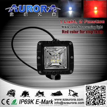 "Aurora 2"" Tail Light Red And White Color Led Light"