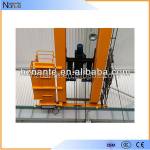 Double Girder Wire Rope Built Up Trolley Hoist For Lifting