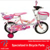 Pink Fixie Bicycle With Bike Basket for