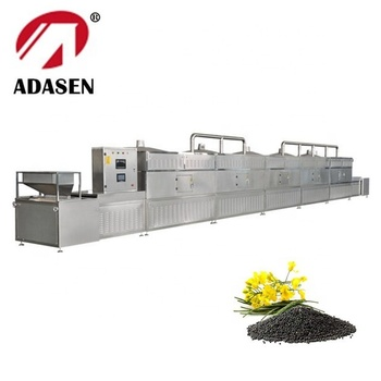 China supplier microwave UV combined drying and sterilizing machine for rapeseed