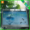 Outdoor Cosmetics Advertisements Light Box Crystal Acrylic Frame