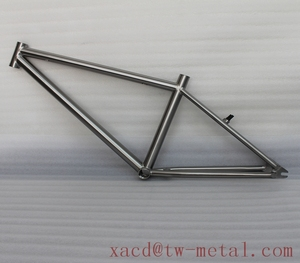 Titanium BMX 15'' 22.8'' Custom titan BMX Bicycle frame BMX bike with special design disc brake