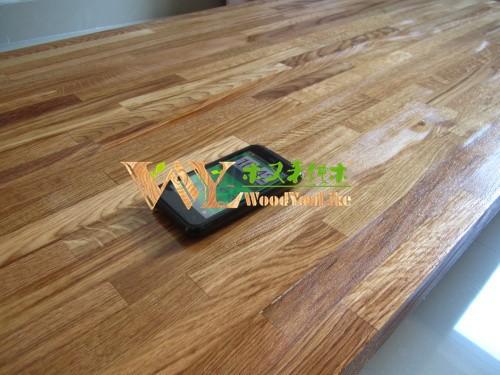 de madera de la cocina encimeras de madera maciza de madera maciza de roble bares restaurante