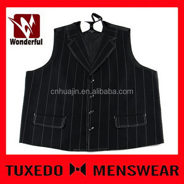 Good quality antique special plain dyed men's sleeveless vest