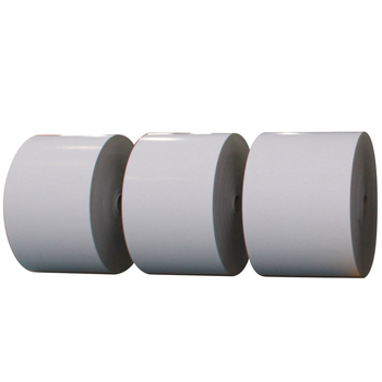 c2s gloss coated blue core playing cardboard paper roll size