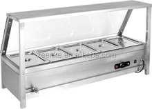 Commercial Electric Food Warmer Bain Marie for Restaurant Buffet Chafing Dish Heated Food Warmer