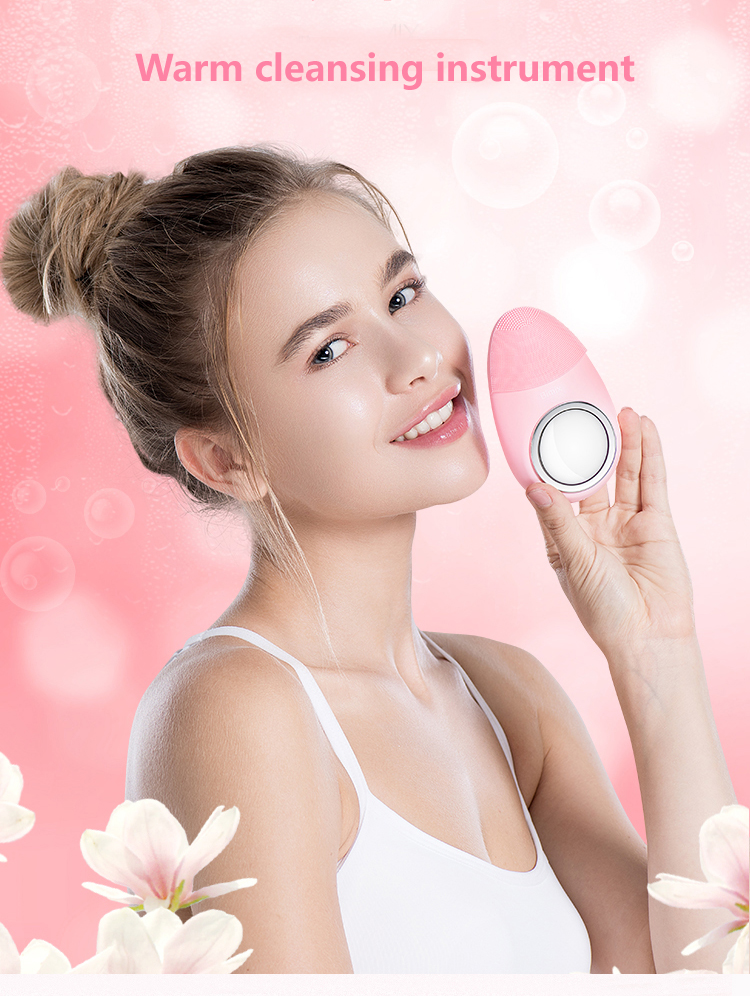 Skin care electric Face Cleaning Brush skin scrubber for all people