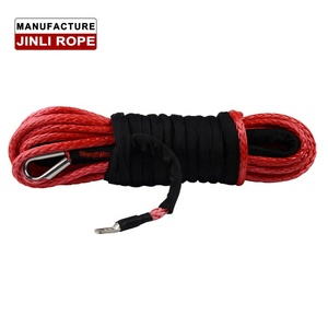 JINLI Multifunction Mini 12000 LBS 12V 24V 4WD synthetic rope winch 12v 4x4  electric winch