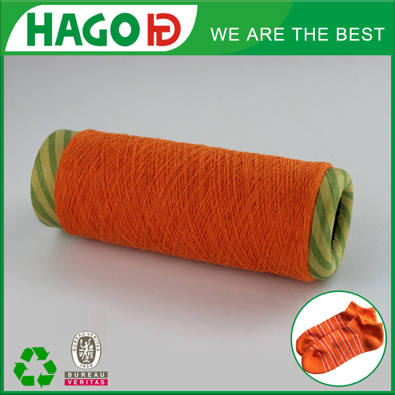 OE recycled cotton blended yarn for knitting or weaving use with reasonable price in high quality