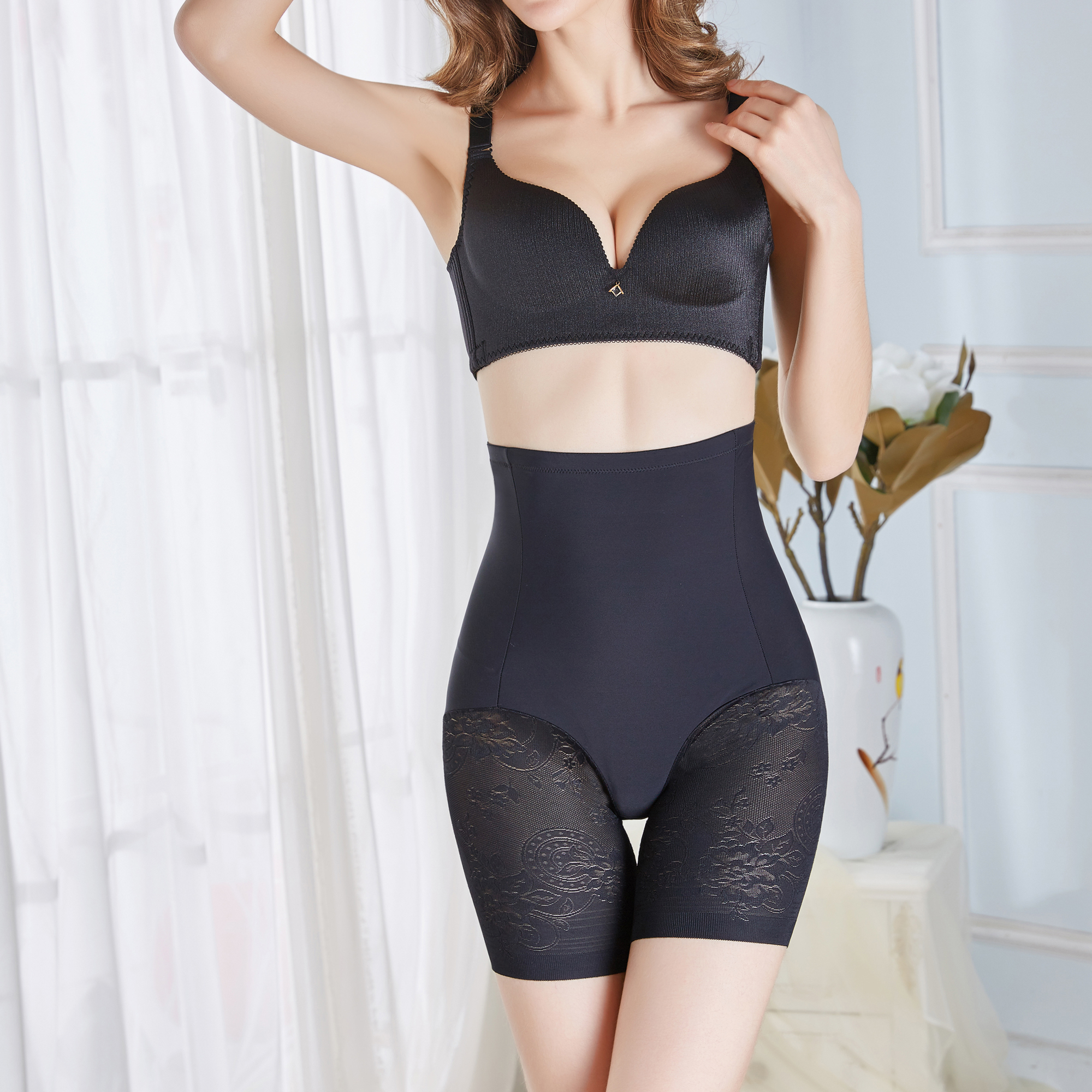 Wholesale Price High Waist Tummy Control Brazilian Butt Lift Underwear Pants