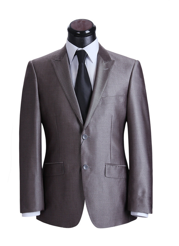 (Jacket+pants) 100% Wool Single Breasted  Formal Business Blazers Costume Homme Marriage One Button Men's Suits