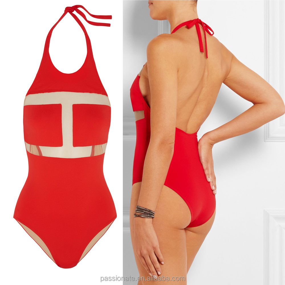 Christmas One Piece Swimsuit.Download Girl In A Bathing Suit On A Beach New Years Eve In