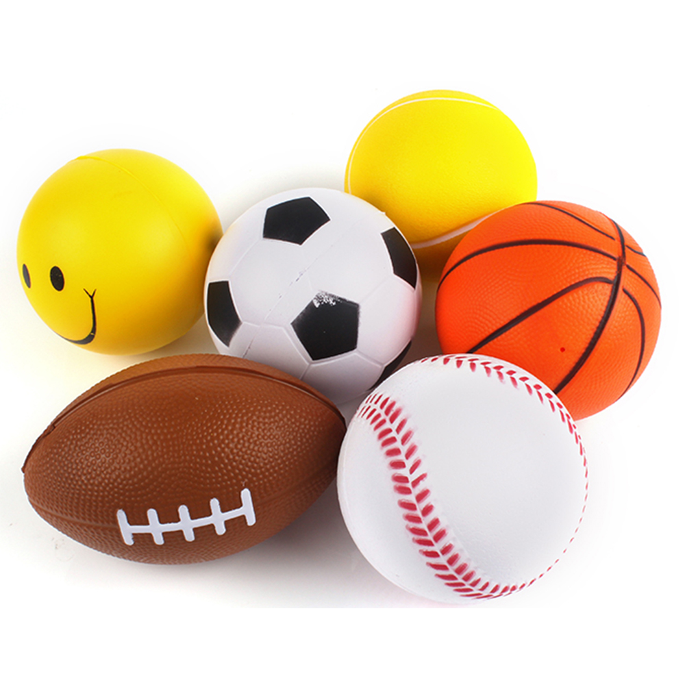 Wholesale Sport Set Soft PU Stress <strong>Ball</strong> for Kids