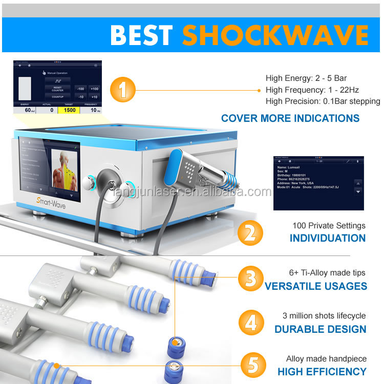 shock wave therapy equipment shockwave for impotence treatment